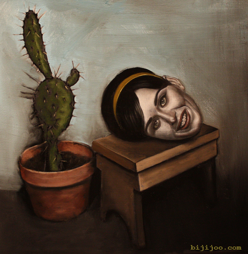 Still Life with Katy Perry and Cactus