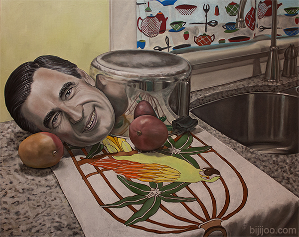 Still Life with Fred Rogers